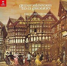 DAVID MUNROW-GREENSLEEVES TO A GROUND-JAPAN CD C68