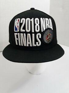 New Era 9Fifty 2018 NBA Finals Cleveland Cavalier Snapback Black Baseball Cap !!