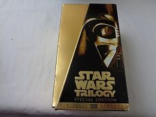 Vintage Star Wars Trilogy Special Edition VHS Tapes