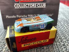 """Schuco Piccolo Porsche 908/3 """"Targa Florio"""" Club-Sonder-Modell 2011 OVP"""