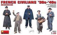 MIN38004 - Miniart 1:35 - French Civilians 30s-40s