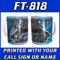 FT-818 FT818 CALL SIGN & RADIO HAM AMATEUR RADIO PERSONALISED