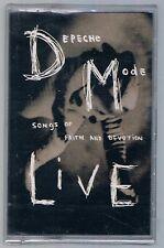 DEPECHE MODE SONGS OF FAITH AND DEVOTION LIVE MC K7 MUSICASSETTA NUOVA!!!