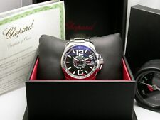 CHOPARD MILLE MIGLIA GT XL GMT AUTOMATIC STEEL MENS WATCH 168514-3001