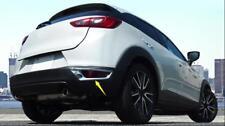 For Mazda CX-3 2015-2018 ABS Chrome Rear Tail Fog Light Lamp Cover Trim 2pcs