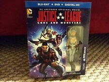 Justice League Gods And Monsters bluray/dvd gift set