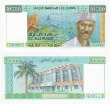 DJIBOUTI - 10,000 Francs Banknote - Pick ref: 41 - UNC.