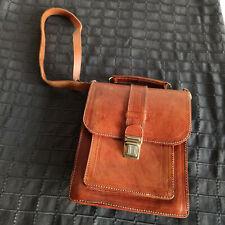 SCHULTASCHE Lehrertasche Messenger Leder Vintage
