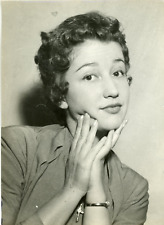 Actrice Lucie Dolène, ca.1955, vintage silver print vintage silver printLuci