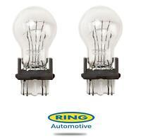 2 x R180 12v 27/7w W2.5x16d Car Bulb Stop & Tail (180) Ring P27/7w 3157 NEW