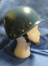 Vintage Gentex Blue Riot Helmet