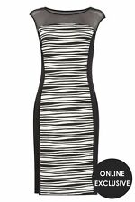 Viscose Party Striped Dresses for Women