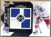 2008-09 Black Diamond Jerseys Quad #BDJMM Mark Messier Quad Jersey