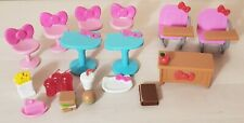 Hello Kitty School Bus Playset Accessories Food