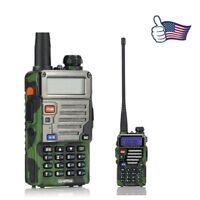 Baofeng UV-5R Plus Qualette V/UHF Dual Band FM Ham Two way Radio + 18cm Antenna