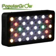 165W Dimmable Full Spectrum LED Aquarium Grow Light Fish Tank Reef Coral