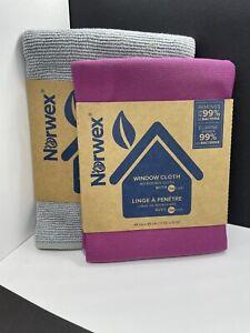 NORWEX BASIC PACKAGE Graphite ENVIROCLOTH & Plum WINDOW CLOTH Microfiber