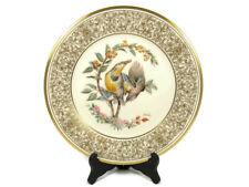 "Vtg 1971 Lenox Meadowlark Round Collector Plate Boehm Birds Limited Ed 10 5/8"""