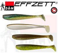 DAM Effzett Phthalate-Free Greedy Shad Bulk 10cm 5.5g 4pcs Soft bait NEW 2020