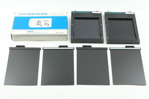 [Unused] TOYO CUT FILM HOLDER 4×5inch 2×2set with Box From JAPAN