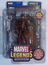 Daredevil Marvel Legends Series 3 Display Stand And Comic Book Included TOYBIZ