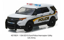 Greenlight  Hot Pursuit  2015 Ford Police Interceptor Utility   U.S. ARMY Police