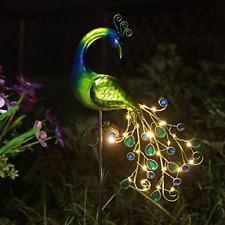 5Pcs Chicken Yard Art Outdoor Garden Backyard Lawn Stakes Metal Hen Yard Decor