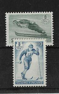 Finland 1958 World Ski Championships MNH Set
