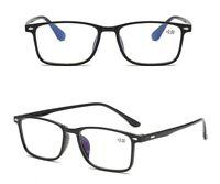 Mens Womens Reading Glasses Stylish Lightweight 1.0 1.5 2.0 2.5 3.0 3.5 4.0
