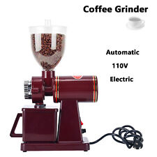 Professional Coffee Grinder Electric Automatic Bean Burr Mill Espresso