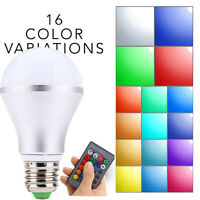 GI- E27 Wireless Remote Control RGBW RGB LED Light Bulb Color Change Stage Lamp