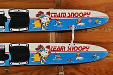 Vintage 1965 Team Snoopy Waterskis Youth Learning Collectable Nash Wood Peanuts