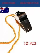 12pcs Metal Sports Whistle Referee Indoor Outdoor Match Camping Emergency Use