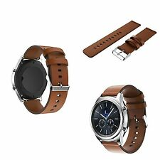 Official Samsung Gear S3 Frontier Bands Samsung GS3 Watch Band Leather Brown