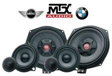 MTX TX6.BMW e MINI KIT 3 VIE SUBWOOFER MIDWOOFER 10cm TWEETER CROSSOVER 450W rms