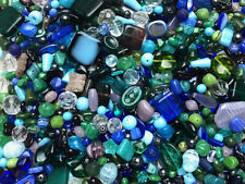 Czech Glass Beads 1lb Bag Of Assorted Shapes And Sizes: Lush Garden