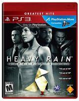 Heavy Rain Director's Cut ~ Sony PlayStation 3 ~ Brand New & Factory Sealed  PS3