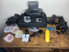 GoPro Hero Set (a Lot Of Mounts, Batteries And Filters