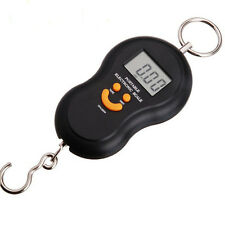 Portable 50kg/5g LCD Digital Fish Hanging Luggage Weight Electronic Hook Scale N