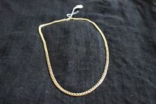 9ct Yellow Gold Necklace - 22.31g 60cm