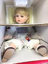 "Nrfb 15th Anniv Marie Osmond 14"" porcelain doll C26724 - Little Red Riding Hood"