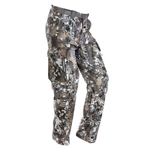 @NEW@ Sitka Gear Equinox Bottom Pants Whitetail Optifade Elevated Camo Size 33-R