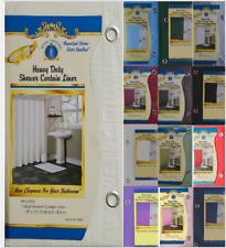 Luxury Home Fashion Vinyl Shower Curtain Liner, Waterproof Shower Curtains