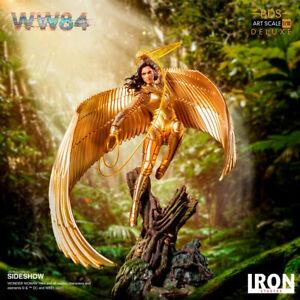 Iron Studios DC Comics WW84 Wonder Woman Deluxe Art Scale Statue New In Stock
