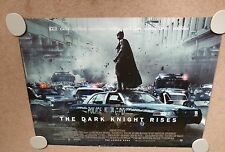 "2 BATMAN DARK KNIGHT RISES Original Cinema Quad Poster 30"" X 40"" Collectable"