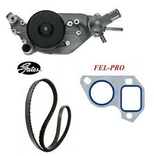 GATES Water Pump & Serpentine Belt & Gasket For 2013 CHEVROLET CORVETTE V8 6.2L