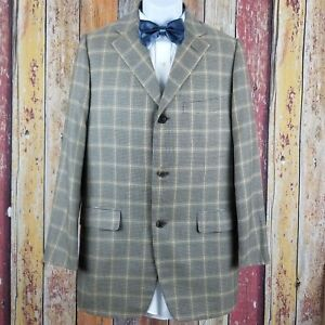 Baldessarini Hugo Boss Men's Cashmere Silk Blend Sport Coat Jacket 40 Regular