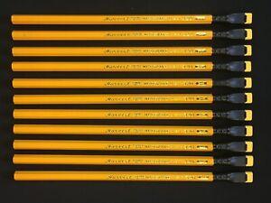 12 Custom Blackwing Hackwings HARVEST #1 Pencils + Palomino Blackiwng Ferrule