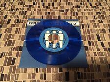 "Caddywhompus Decent 7"" 45rpm Blue Color Third Man Live"
