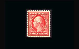 US Stamp Mint OG & H, Super b S#358 Blue paper Very Large margins, GEM